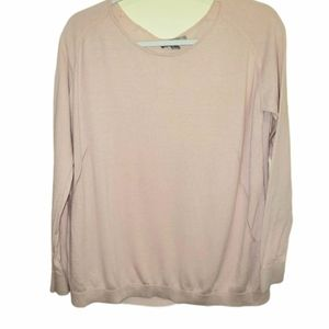 One A pullover Sweater Pink Size Small